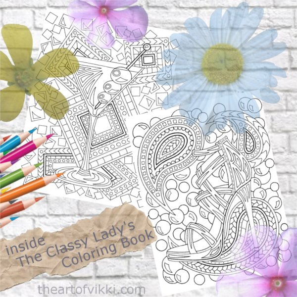 Coloring For Adults: Color The Finer Things In Life