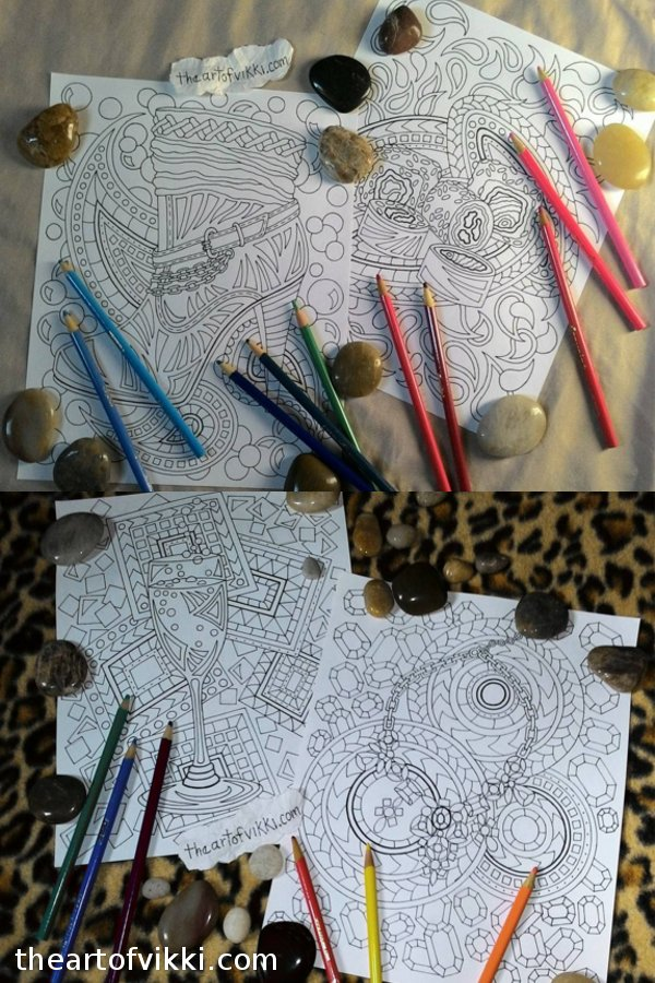 A Look Inside The Classy Lady's Coloring Book