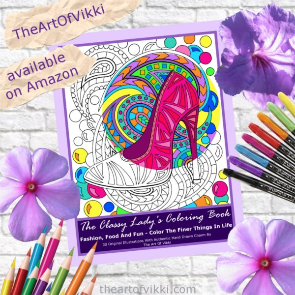 Coloring For Adults: The Classy Lady's Coloring Book