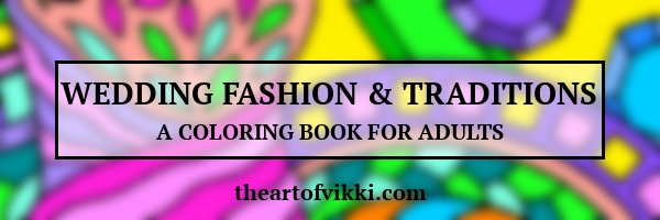 Wedding Fashion And Traditions Coloring Book