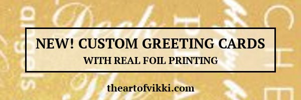 Real Foil Greeting Cards