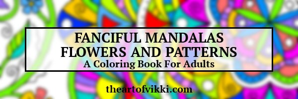 Fanciful Mandalas Flowers And Patterns A Coloring Book For Adults