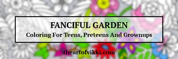 Fanciful Garden Coloring Book