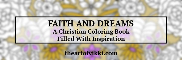 Faith And Dreams Christian Coloring Book