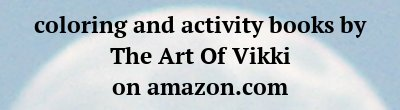 Coloring Books By The Art Of Vikki On Amazon